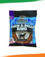 Red Barn Chew A Bull Ring Peanut Butter