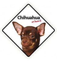 Chihuahua On Board Sign