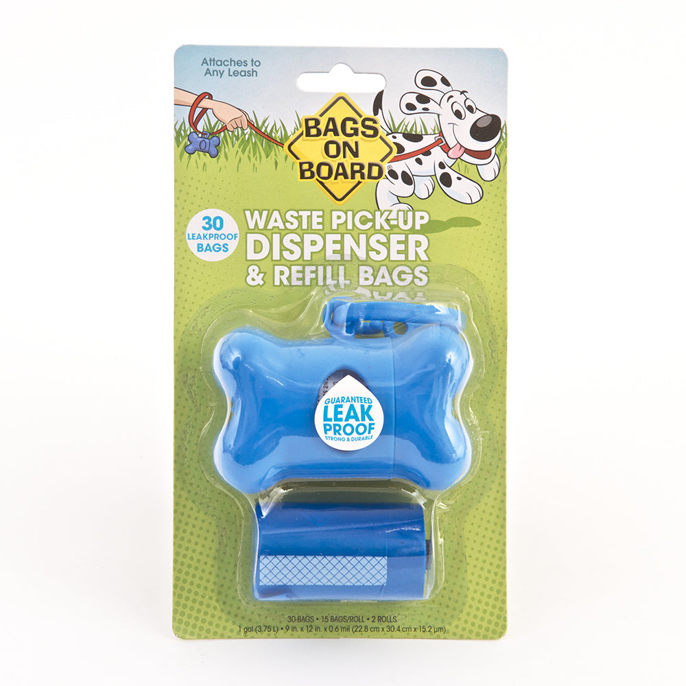 Bags On Board Dispenser Bone (30 Bags)