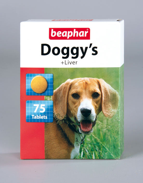 Beaphar Doggys Liver Dog Treats 75 pcs