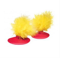 Kong Feather Toy Glide'n Seek Replacement 2 pack