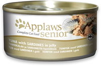 Applaws Cat Senior Tuna with Sardines in Jelly 70g Tin