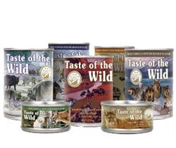 Taste Of The Wild - Dog Wetfood Mix (12x375g)