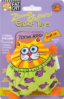 Fat Cat Zoom Stuffers Catnip Toy