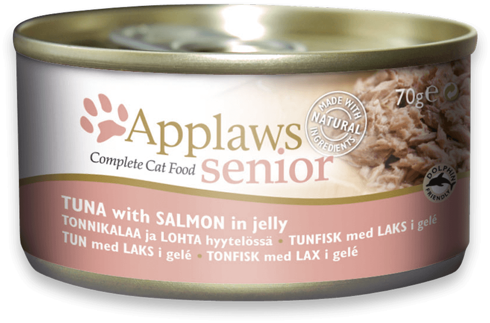 Applaws Cat Senior Tuna with Salmon in Jelly Tin