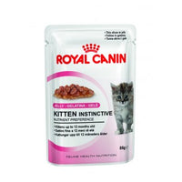 Royal Canin JELLY Kitten Instinctive (pouches)