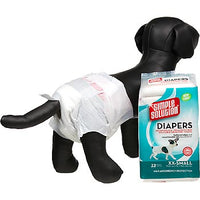 Simple Solution Disposable Diapers for Dogs