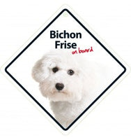 Bichon Frise On Board Sign