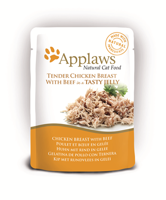 Applaws Cat Chicken/Beef 70g Jelly