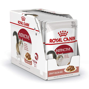 Royal Canin- Instinctive for adult cats (pouches)