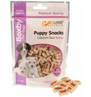 Proline Boxby Puppy Snacks Calcium Duo Bones 140g