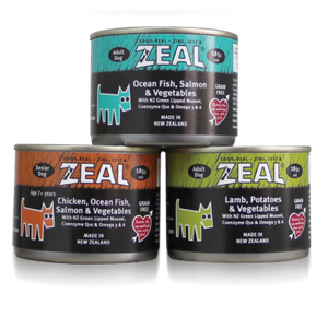 ZEAL - Dog Wetfood Mix (12 x 390g)