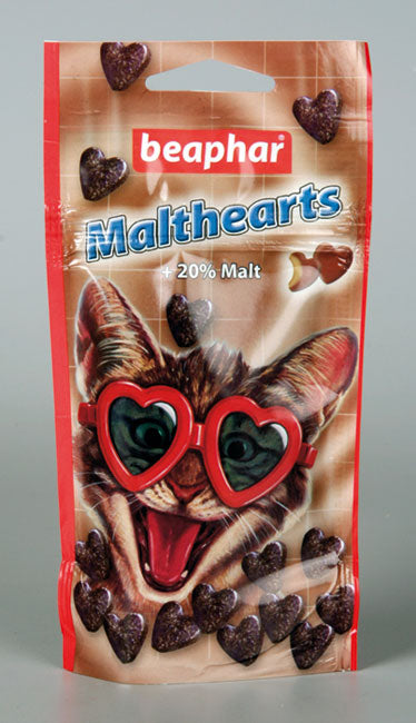 Beaphar- Malt-Hearts Cat 50g