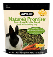 Zupreem Nature's Promise Premium Rabbit Food 5lb
