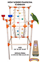 ZooMax Playgym Wood
