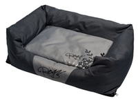 Rogz Spice Pod Bed- Silver Gecko- Grey And Dark Grey Pod