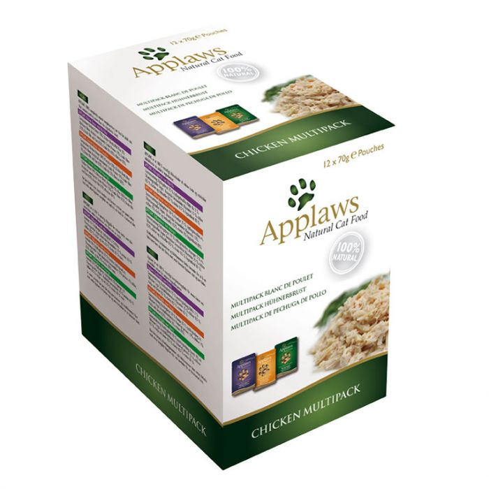 Applaws Cat Chicken Multipack 12 x 70g Sachets