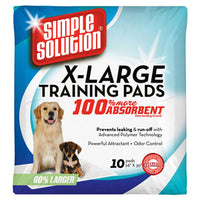 Simple Solution Extra Large Puppy Training Pads - 10 Pads