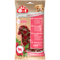 8in1 Minis Moist Lamb & Cranberry 100g