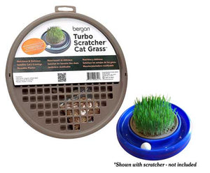 Bergan Cat Turbo Scratcher Grass