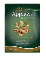 Applaws Cat Chicken with Asparagus 70g Pouch