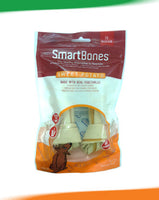 SmartBones Sweet Potato Medium 2 Pk- RAWHIDE FREE