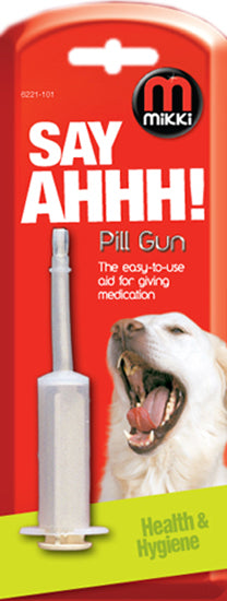 MIKKI- Pill Gun Dog & Cat