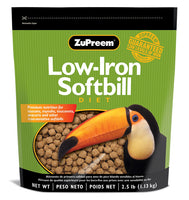 ZuPreem Low-Iron Softbill Diet 2.5lb