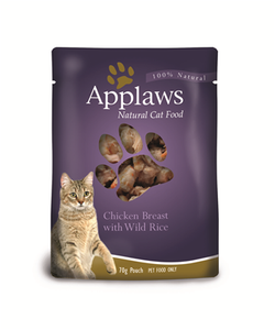 Applaws Cat Chicken/Rice 70g Pouch