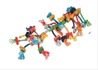 Flamingo Parrot Toy Hanger With Beads