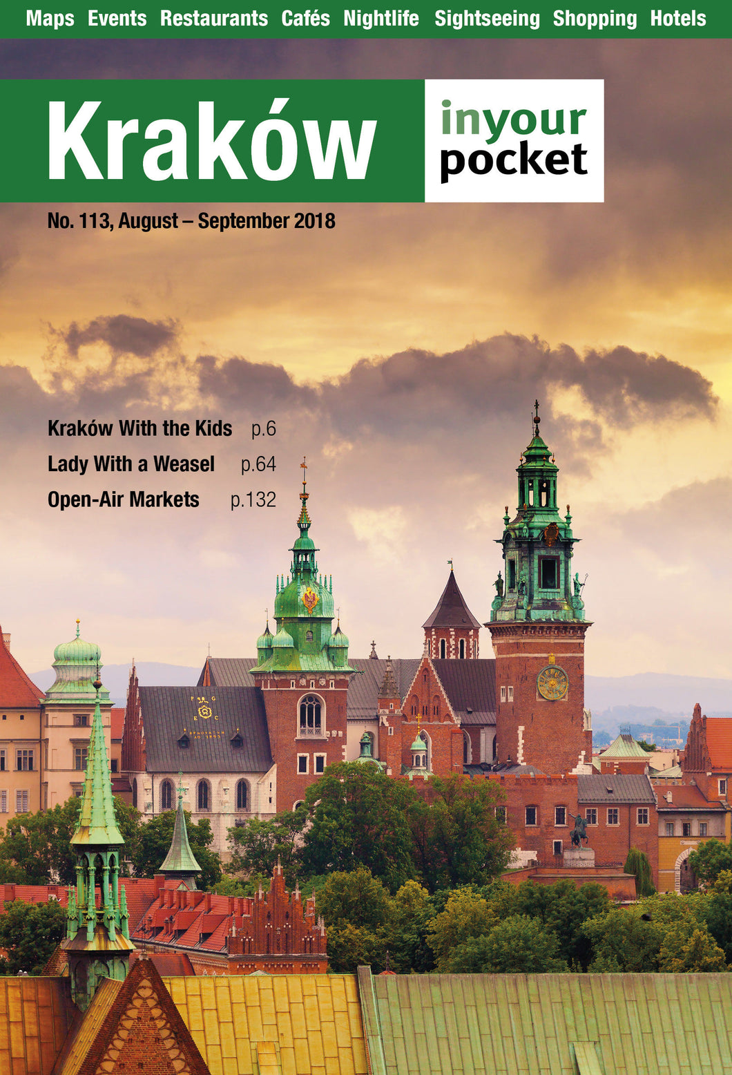Krakow In Your Pocket Printed Full Guide