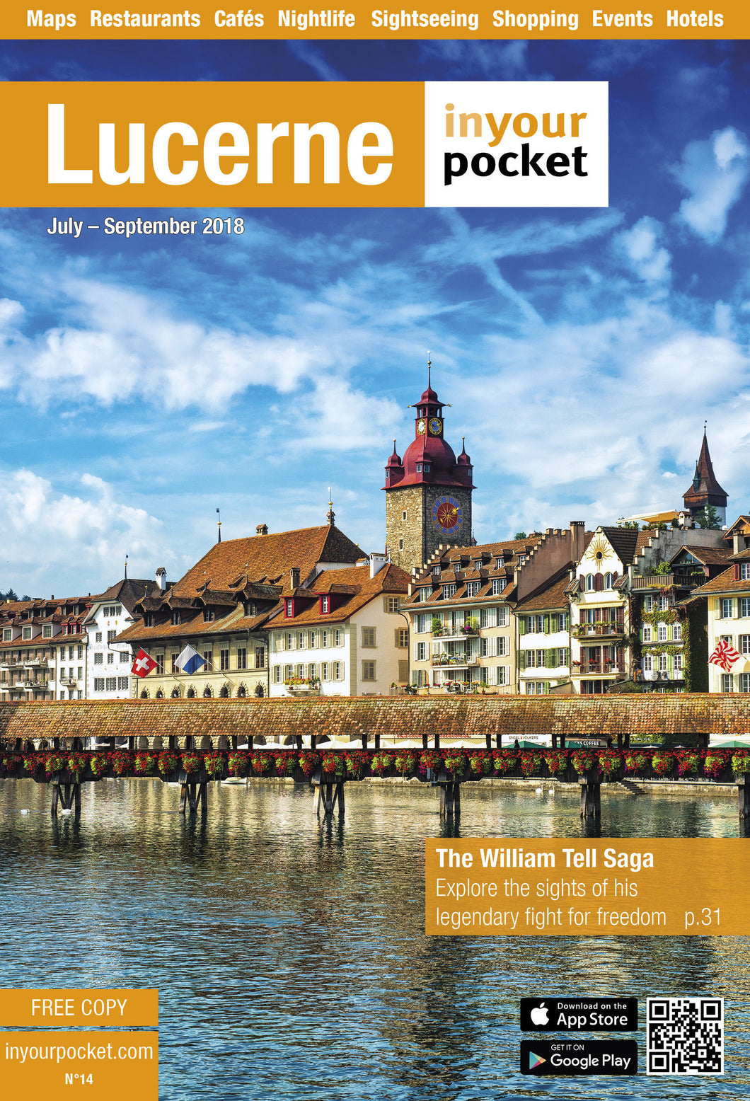 Lucerne In Your Pocket Printed Full Guide