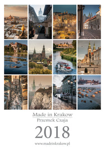 Made in Krakow - 2018 Calendar