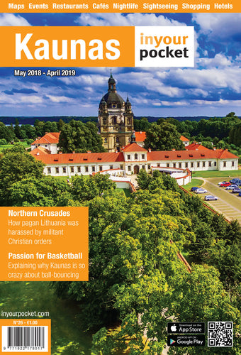 Kaunas In Your Pocket Printed Full Guide