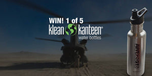 WIN 1 of 5 Klean Kanteen Stainless Steel Water Bottles with AWE2108
