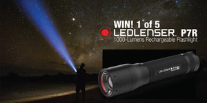Win 1 of 5 Ledlenser P7R Flashlights worth $239.95