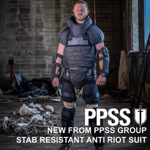 PPSS Launch New Stab Resistant Anti Riot Suit - See it at AWE2018!