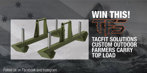 Tacfit Solutions Giveaway Custom Outdoor Farmers Carry Top Load
