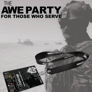 Tickets Available for The Friday Night AWE Party - For Those Who Serve