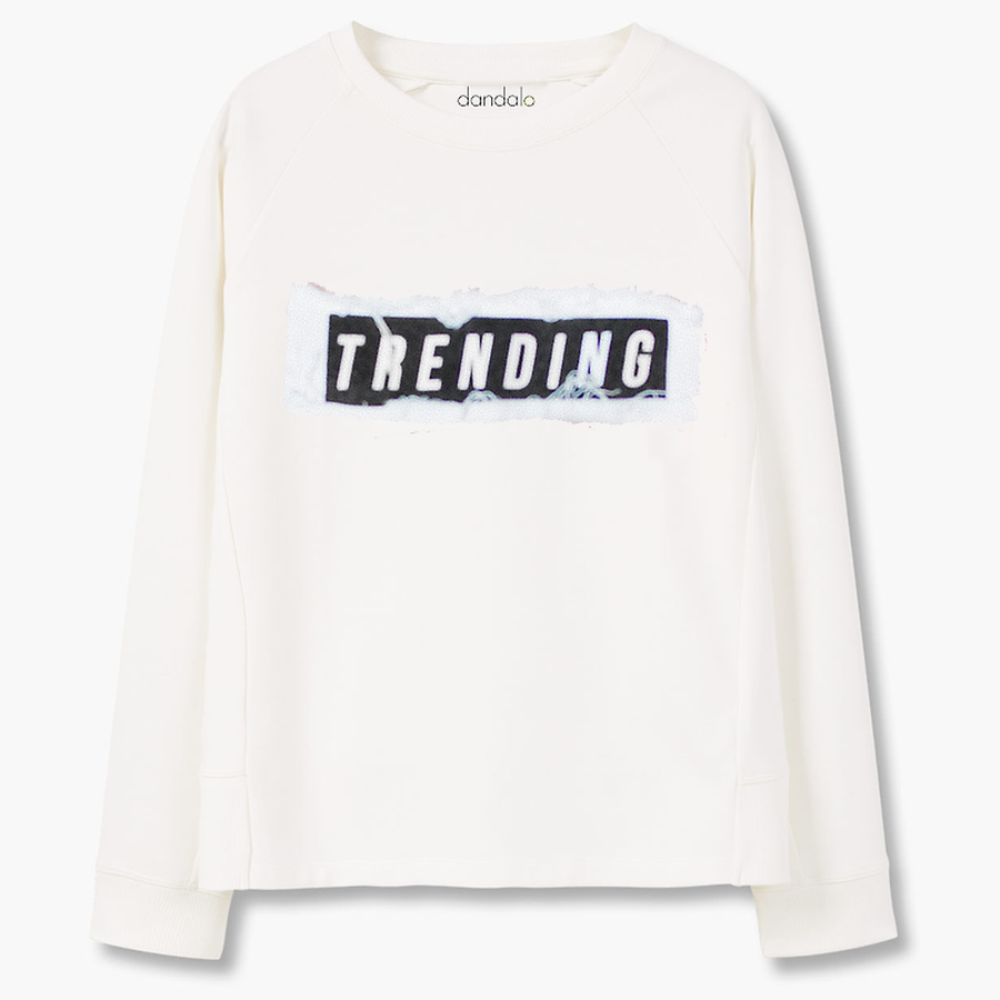 "Sweatshirt ""Trending"" Top"