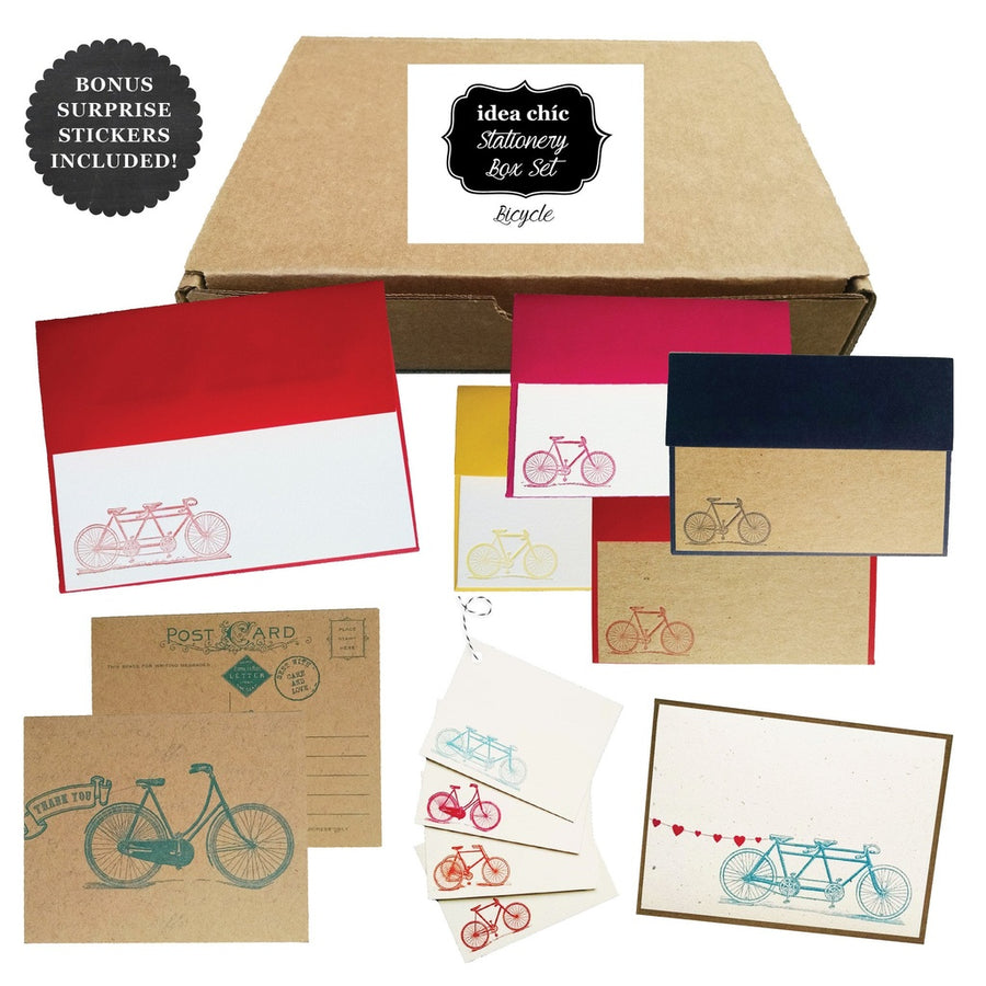 Bicycle - Idea Chic Stationery Box Set