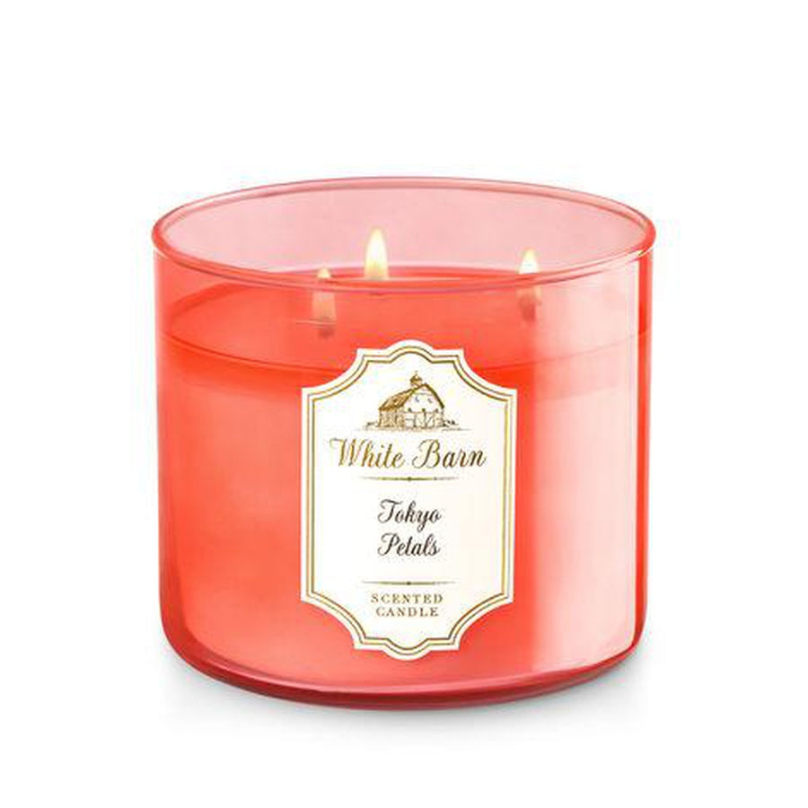 White Barn TOKYO PETALS 3-Wick Candle