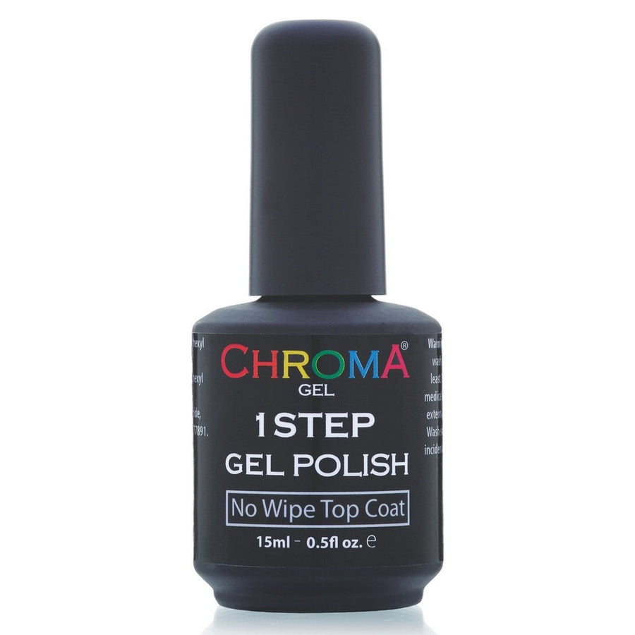 Chroma Gel No Wipe Top Coat No.25 - LED & UV