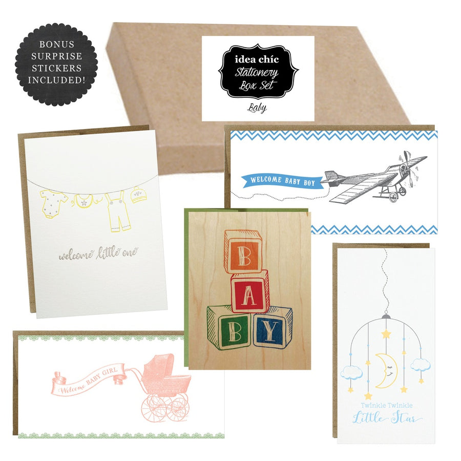 Baby - Idea Chic Stationery Box Set