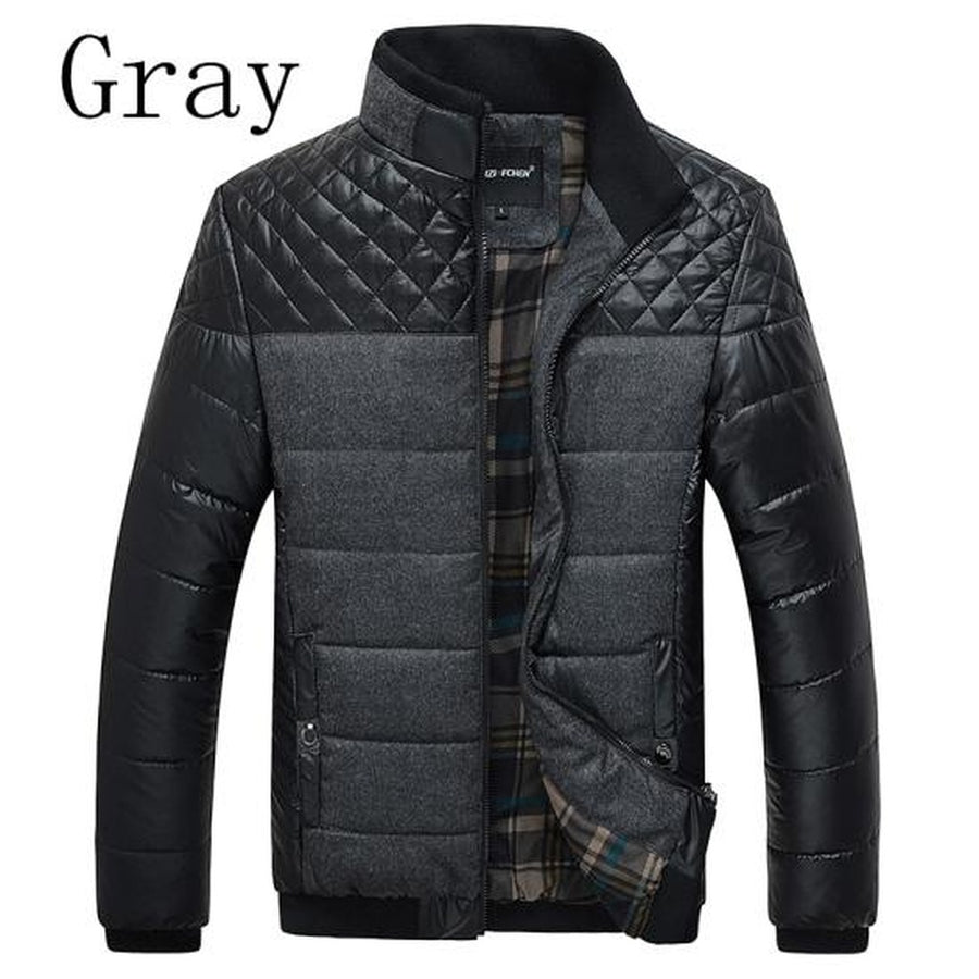 Classic Men Warm Jackets