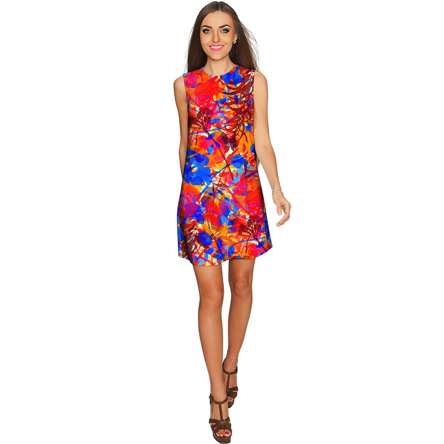 Summer Dizziness Adele Cute Printed Shift Dress - Women Womens