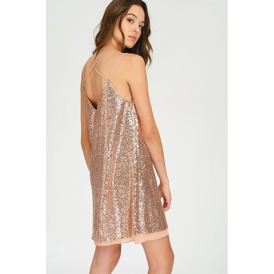 Shimmer Sequin Dress