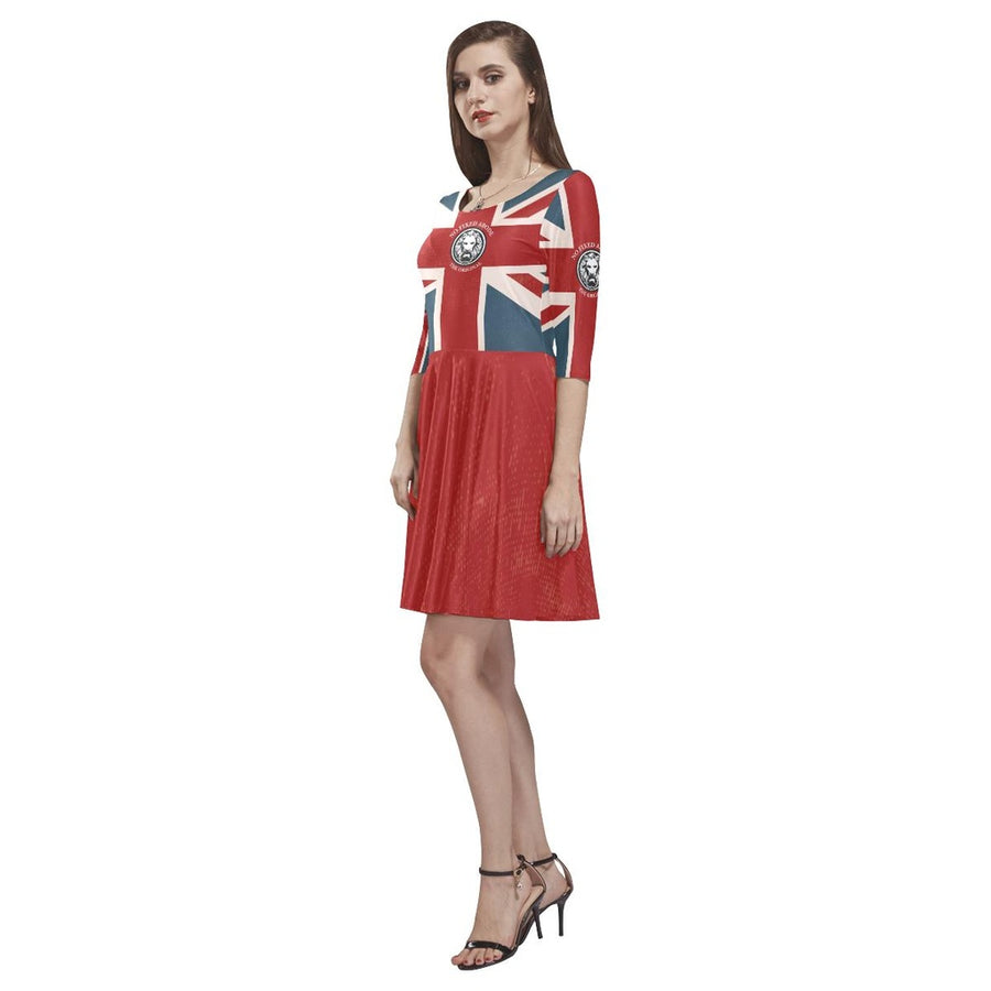 Nfa The Original Union Jack Womens Skater Dress