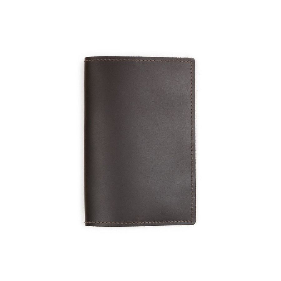 Green Military Leather Log Book Cover