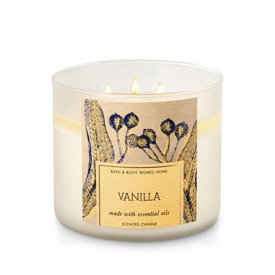 VANILLA 3-Wick Candle